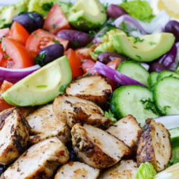 Eat Clean with this Vibrant Mediterranean Chicken Salad!