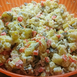 Christmas Potato Salad