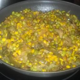 Edamame and Roasted Corn Succotash