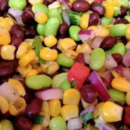 Edamame Corn Salad Recipe