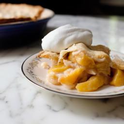 Edna Lewis's Peach Cobbler