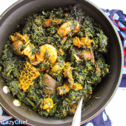 Efere Afang(Queen of The Efik Soups)