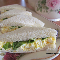 Egg and Watercress Sandwiches