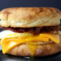 Egg, Bacon and Cheese McMuffin