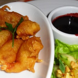 Egg Batter for Deep-Fried Shrimp
