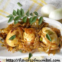 Egg Masala Dry - Indian Egg Masala Dry Recipe