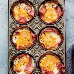 Egg Muffins in Ham Cups