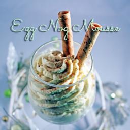 Egg Nog Mousse