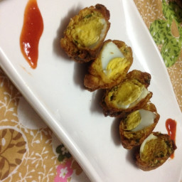 Egg Pakoda Recipe, Egg Pakora Recipe, Egg Bonda