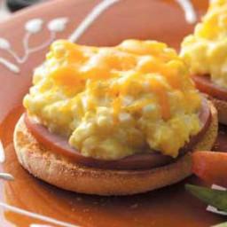 Egg Salad English Muffins