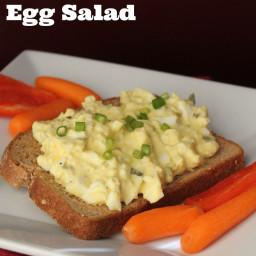 Egg Salad {NO MAYONNAISE)