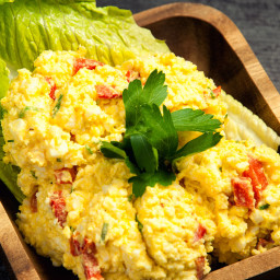 Egg Salad with Roasted Bell Pepper Recipe