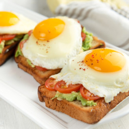 Egg, Tomato & Avocado Delight