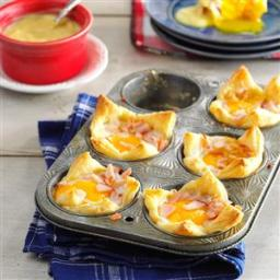 Egg Baskets Benedict Recipe