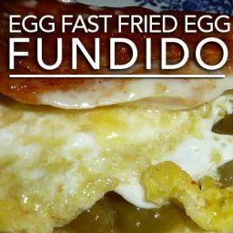 Egg Fast Fried Egg Fundido – Low Carb Keto Fandango!