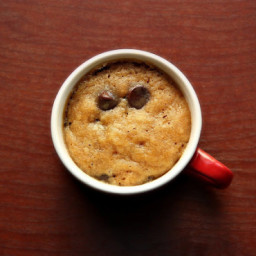Eggless Chocolate Cookie in a Mug
