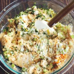 060917 Eggless Egg Salad (CHICKPEAS)