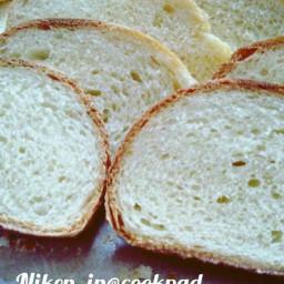 Eggless Milk Bread - Roti Tawar Empuk dengan Bahan Sederhana