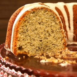 Eggnog Poppy Seed Bundt Cake Recipe