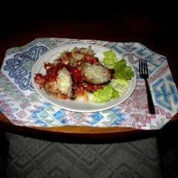 Eggplant Casserole with Ham