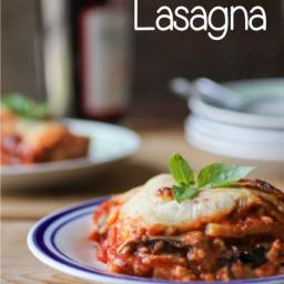 Eggplant Polenta Lasagna