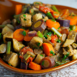 Eggplant Saute with Vegetables