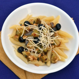 Eggplant with Capers and Olives Recipe