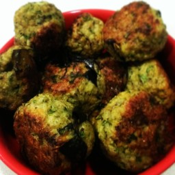 Eggplant/Chicken Meatballs