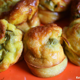 Eggs and Asparagus Breakfast Bites