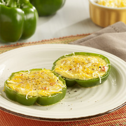 Eggs in Bell Pepper Rings