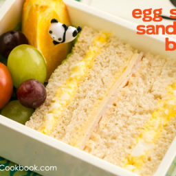 Egg Salad Sandwich Bento