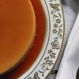 El Flan Cubano: sencillo y exquisito.
