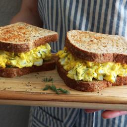 Eli Zabar's Egg Salad Sandwich