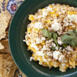 Elote Corn Dip at Home