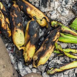 Ember-Roasted Corn and Leeks