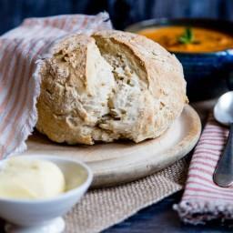 Emergency No Yeast Bread