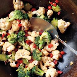 Emeril's Broccoli and Cauliflower Stir-Fry