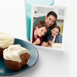 Emeril's Pumpkin-Spice Cupcakes with Cream Cheese Frosting