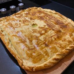Empanada cod y Apple