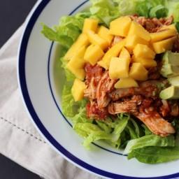 Enchilada Chicken Mango Salad