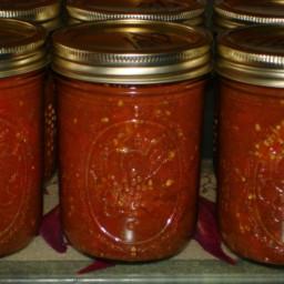 Enchilada Sauce for Canning