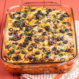 Enchilada Breakfast Casserole