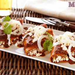 Enchiladas rojas, Guerrero-style