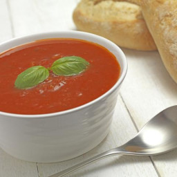 Enjoy the Naturally Sweet Goodness of Cold Tomato Basil Soup