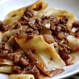 Enna's  ground Pork Ragu