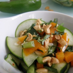 Ensalada Tailandesa de pepino