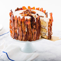 Epic Father's Day 3-Layer Bacon and Beer Cake