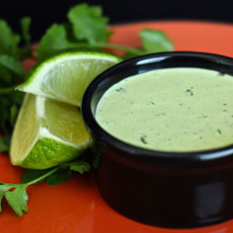Cilantro  ranch dressing
