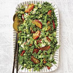 Escarole, Apple, and Bacon Salad with Aged Gouda