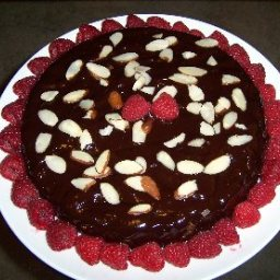 Espresso Brownie Almond Cake